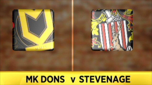 MK Dons 1-0 Stevenage