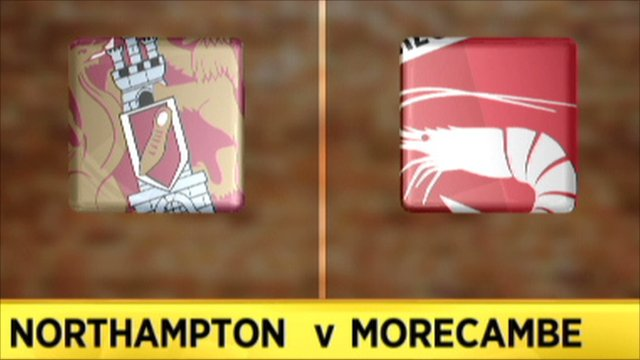 Northampton 0-2 Morecambe
