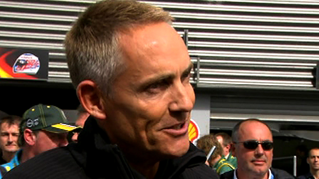 McLaren team principle Martin Whitmarsh