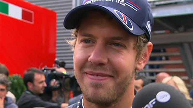 Red Bull driver Sebastian Vettel