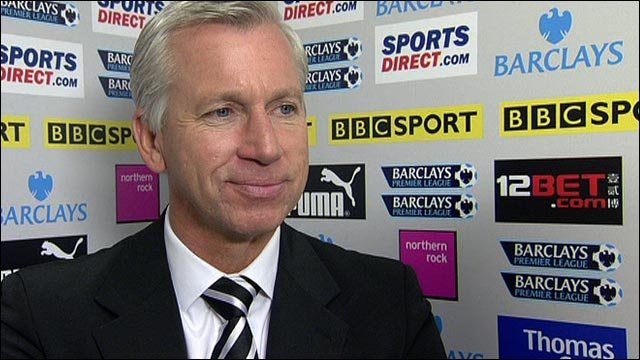 Pardew pleased with Newcastle win