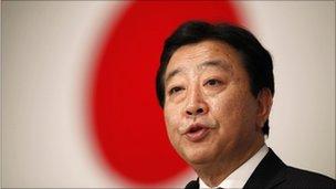 Yoshihiko Noda, pictured on 29 August 2011