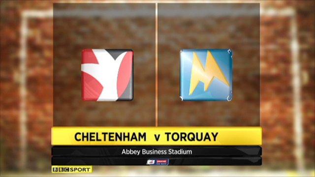 Cheltenham 2-1 Torquay