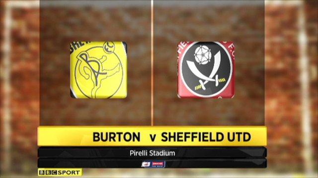 Burton Albion 1-2 Sheffield Utd