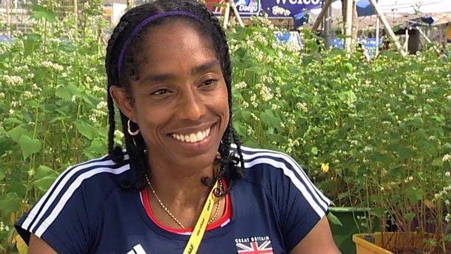 GB triple-jumper Yamile Aldama