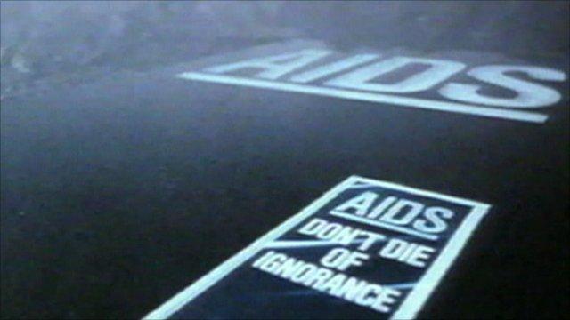 HIV/Aids advert
