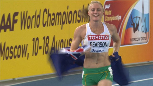 Australia's Sally Pearson