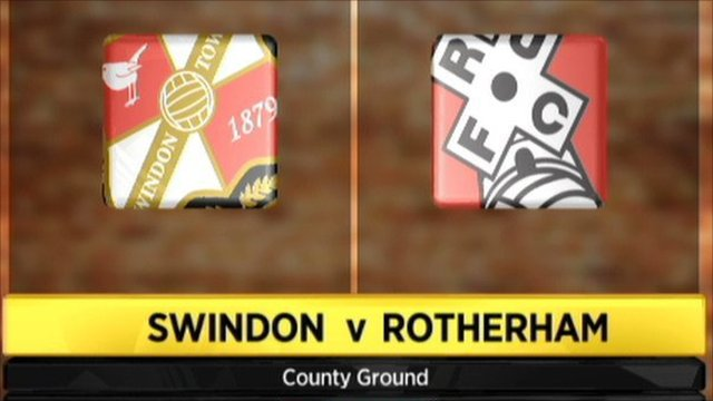 Swindon 3-2 Rotherham