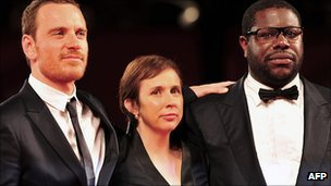 Michael Fassbender, Abi Morgan and Steve McQueen
