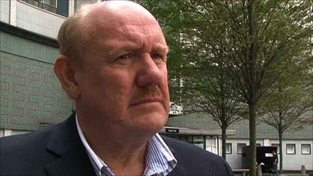 Former Football Association chief executive Brian Barwick