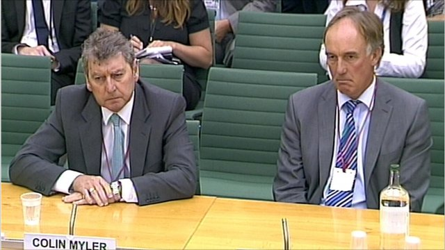 Colin Myler and Tom Crone