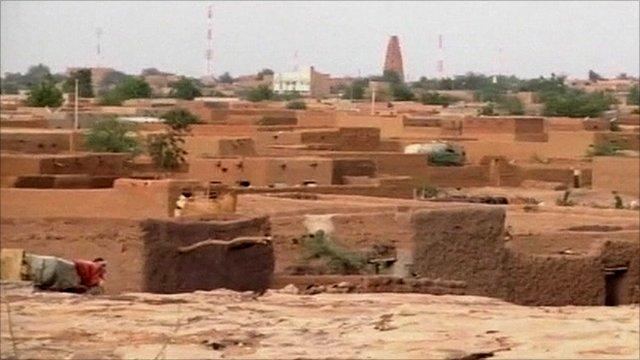 Agadez in northern Niger