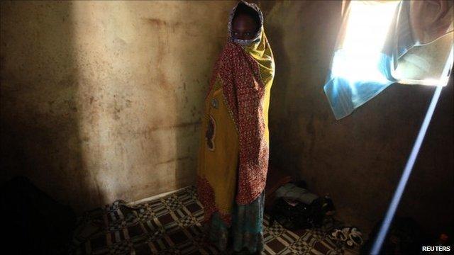African woman in Libya