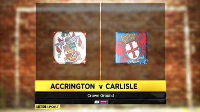 Accrington 3-2 Carlisle