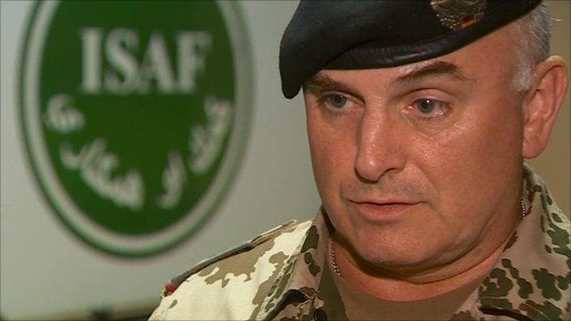 Isaf spokesman Brigadier General Carsten Jacobson