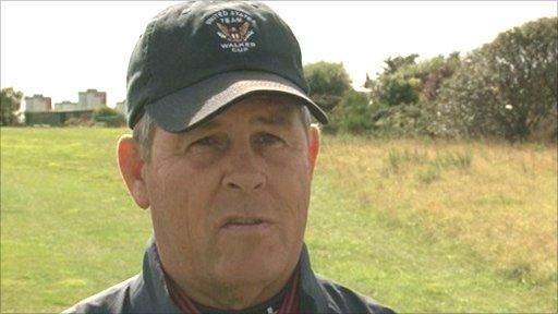 US Walker Cup captain Jim Holtgrieve