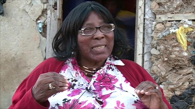 Gladys Tsenene, a boxing promoter