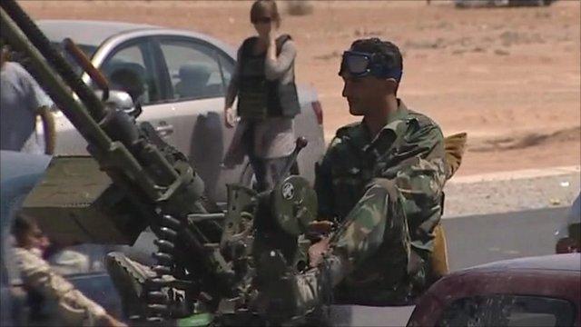 Forces near Bani Walid
