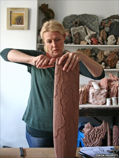 Bbc News In Pictures North Wales Artists Open Doors For