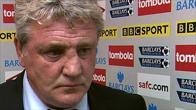 Sunderland boss Steve Bruce