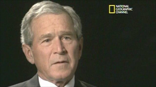 Former US President George W Bush