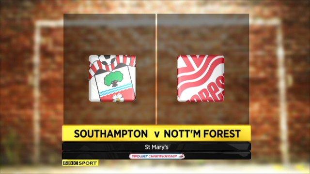 Southampton 3-2 Nottingham Forest