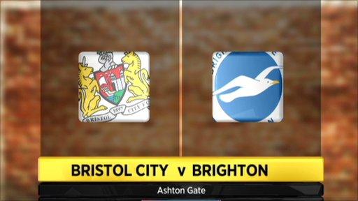 Highlights - Bristol City 0-1 Brighton