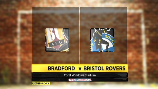 Bradford 2-2 Bristol Rovers