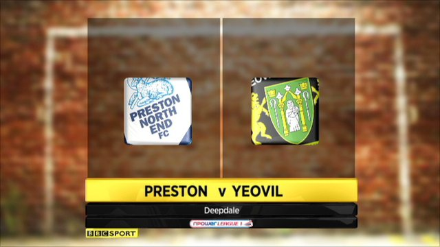 Preston beat Yeovil in Friday night goal feast at Deepdale