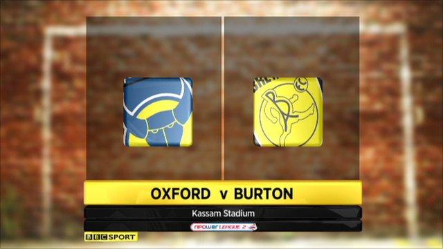 Oxford United 2-2 Burton Albion