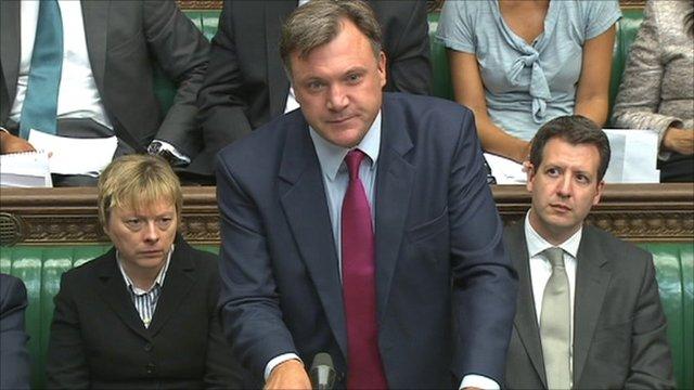 Ed Balls, Shadow Chancellor