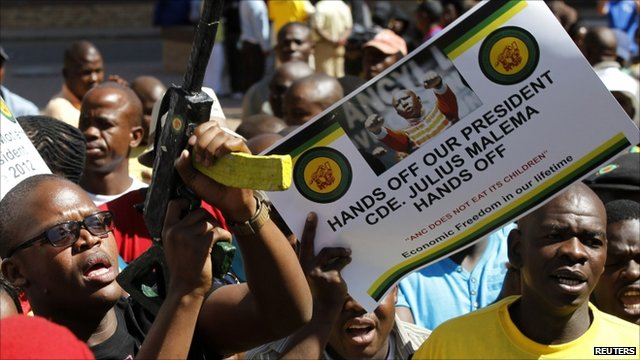 Malema supporters