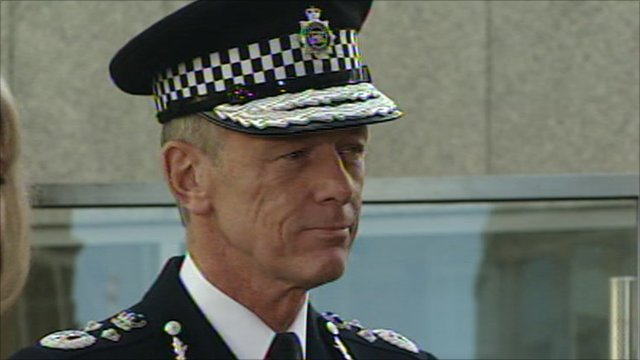 New Metropolitan Police Commissioner Bernard Hogan-Howe