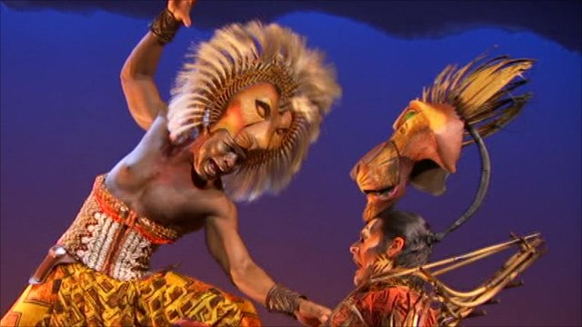 disney u0026 39 s lion king musical  behind-the-scenes look