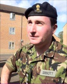 Capt Luke Sinnott