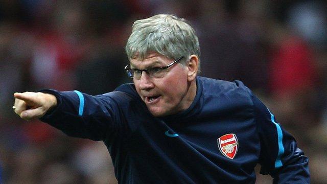 Arsenal's Pat Rice
