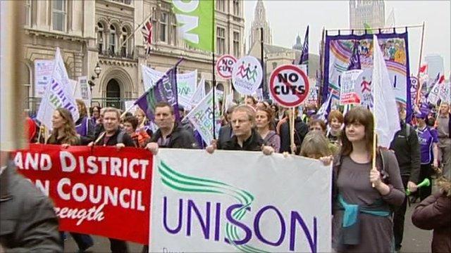 Trade union march
