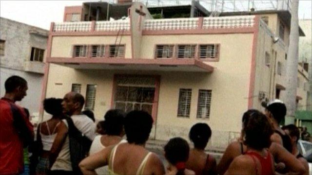 Pentecostal Evangelical church in Havana