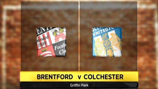 Highlights - Brentford 1-1 Colchester