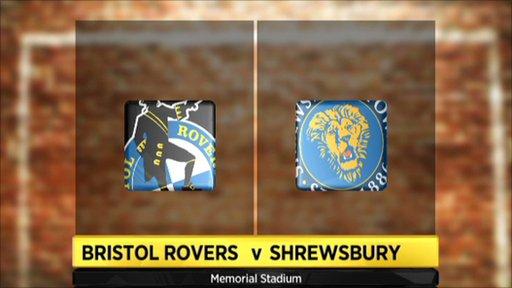 Bristol Rovers 1-0 Shrewsbury