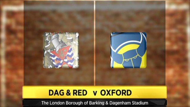 Highlights - Dagenham and Redbridge 0-1 Oxford Utd
