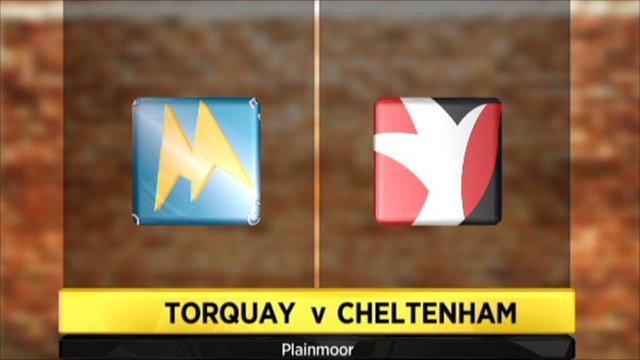 Highlights - Torquay 2-2 Cheltenham