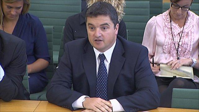 RIM's UK managing director Stephen Bates