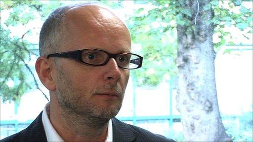Simon Chadwick - professor of sport business strategy Coventry University