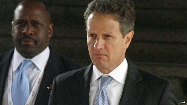 US Treasury Secretary Timothy Geithner