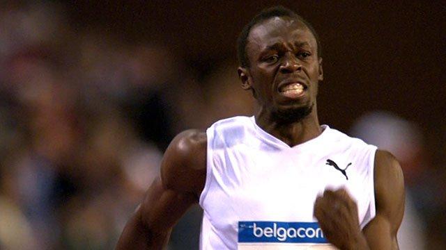 Usain Bolt wins in Brussels