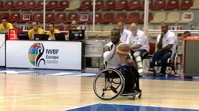 GB men's wheelchair basketball