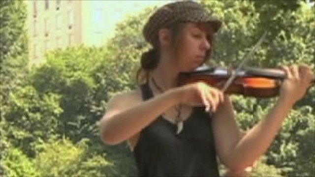 From Broadway to playing in a New York City park thumbnail