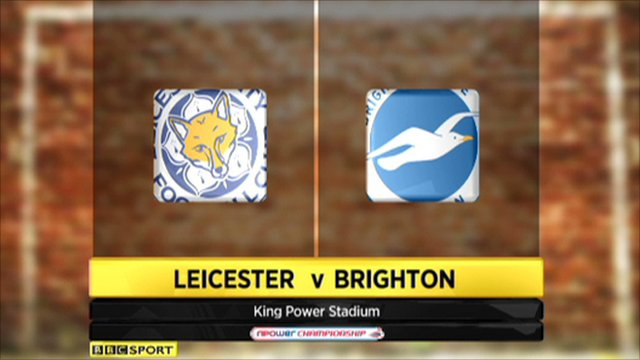 Leicester 1-0 Brighton