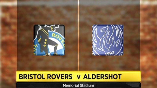 Bristol Rovers 0-1 Aldershot